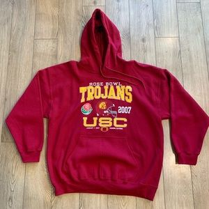 USC Trojans 2007 Rose Bowl Sweatshirt - XL